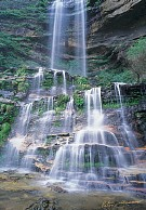 Blue Mountains Waterfall