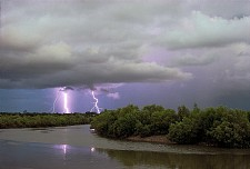 Lightning, Rapid Creek